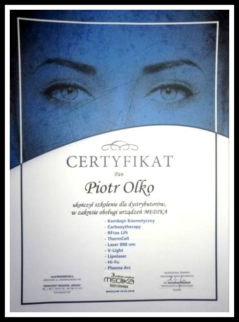 certyfikat Medika